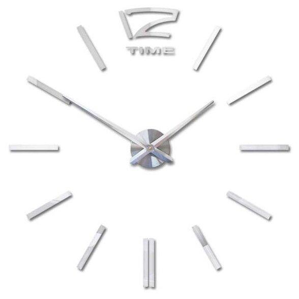 Часы настенные кварцевые 3D Decor Hard Wall Premium 100 см
