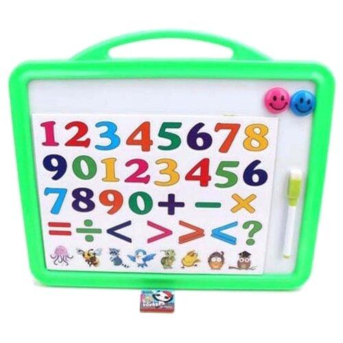 Доска для рисования детская Наша игрушка Математика (DZ-5099B) зеленый фото
