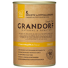 Корм для собак Grandorf утка, индейка 400г