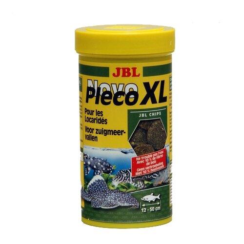 Фото - Сухой корм для рыб JBL NovoPleco XL, 250 мл, 125 г сухой корм для рыб jbl novopleco 53 г