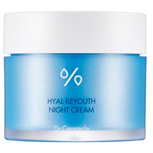 Dr.Ceuracle Hyal Reyouth Night Cream Увлажняющий крем для лица, 60 г dr ceuracle тонер увлажняющий hyal reyouth 120 мл