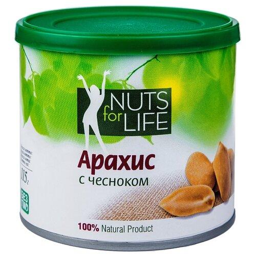 Арахис Nuts for Life с чесноком 115 г