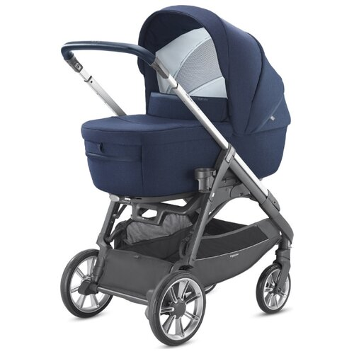 Купить Универсальная коляска Inglesina Aptica (2 в 1, с подставкой для люльки) portland blue, Коляски