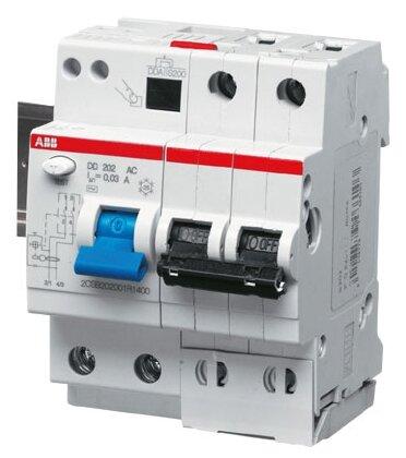 Дифференциальный автомат ABB DS202 2П 30 мА C