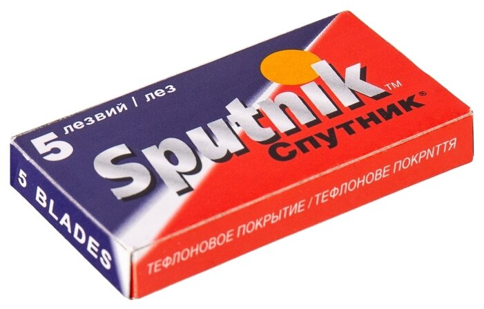 Лезвия для Т-образного станка Gillette Sputnik Stainless