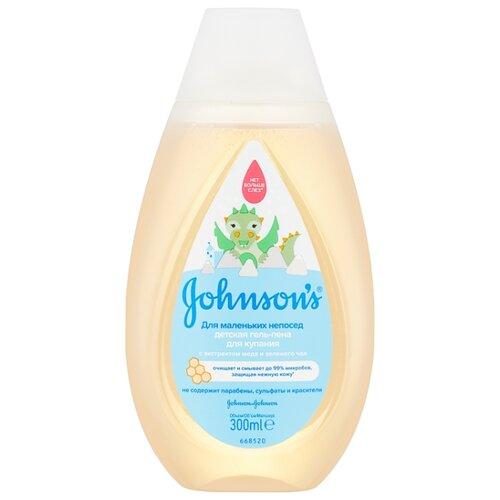 Johnson's Baby Гель-пена для купания Для маленьких непосед 300 мл chicco natural sensation пена для купания с дозатором 500 мл