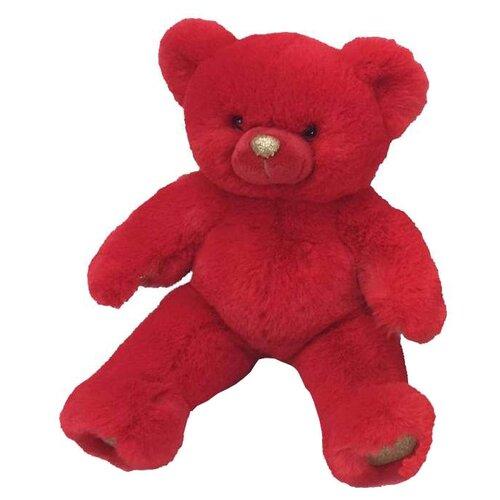 Мягкая игрушка ABtoys Медведь красный 16 см
