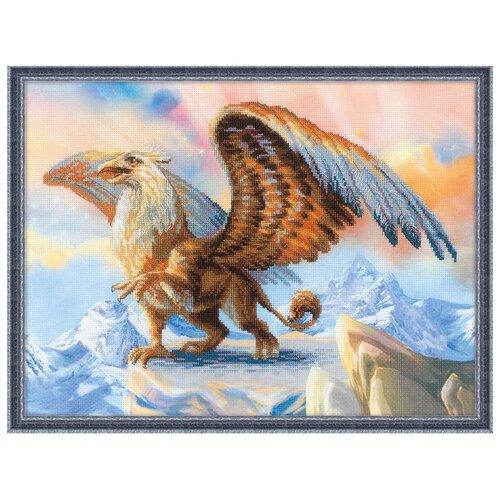 Купить Риолис Набор для вышивания крестом Грифон 40 х 30 (0078 РТ), Наборы для вышивания