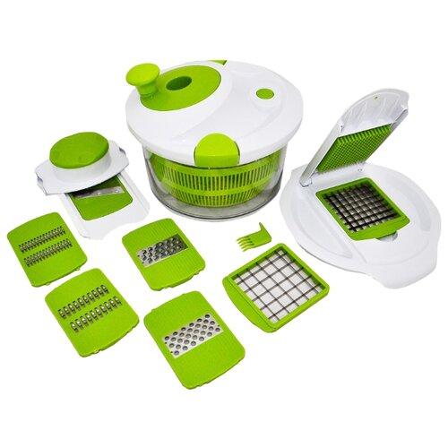 Форма для мойки и сушки зелени и овощей Boulanger BL-11001 белый / зеленый