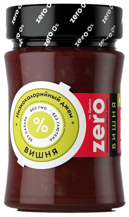Джем низкокалорийный Mr. Djemius ZERO Вишня без сахара, банка 270 г