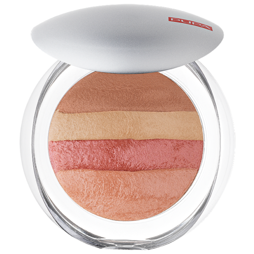 Pupa Luminys Румяна-пудра-иллюминатор Baked All Over Illuminating Blush-Powder 06 coral stripes pupa bronzing and contouring all in one powder palette