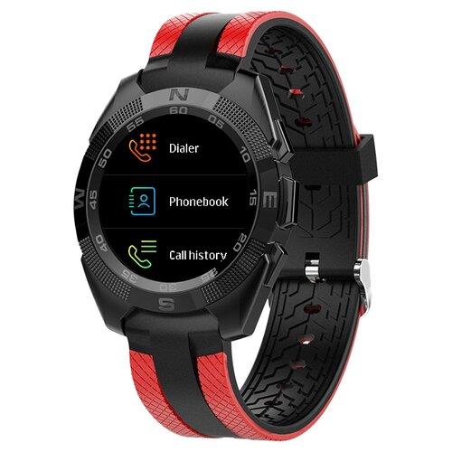 детские умные часы zdk q360 голубой Умные часы ZDK L3, черный/красный