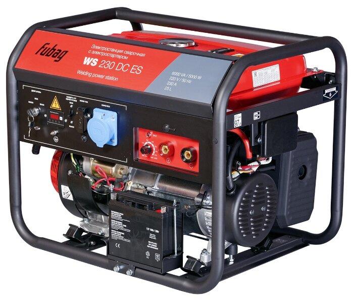 Бензиновый генератор Fubag WS 230 DC