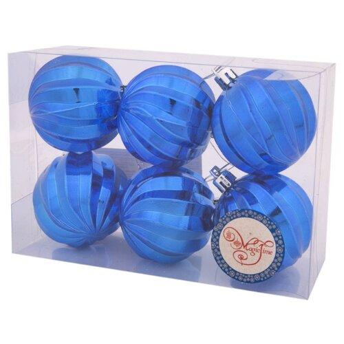Набор шаров Magic Time Спираль (80670/80670), синий, 6 шт. недорого