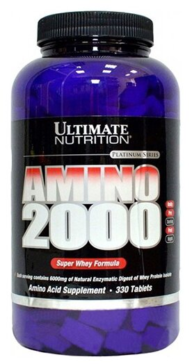 Ultimate Nutrition Amino 2000 (330 таб)