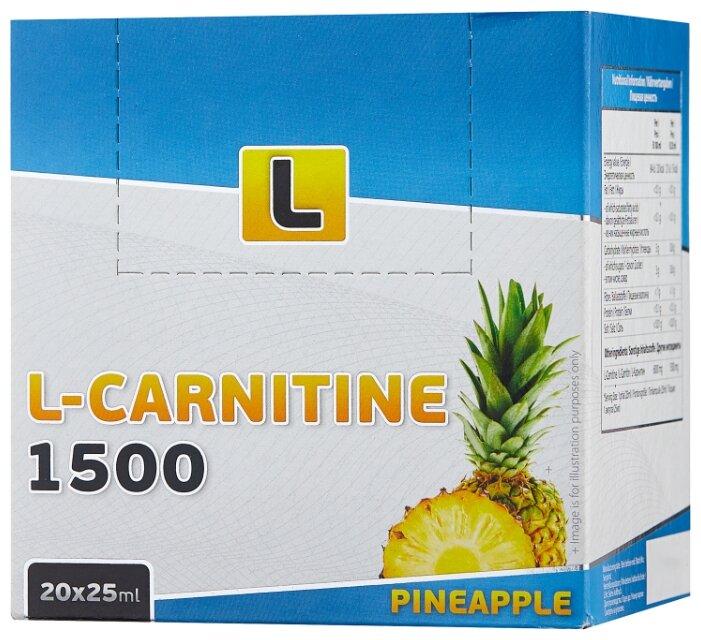 Vplab L-Carnitine 1500 мг (20 ампул х 25 мл)