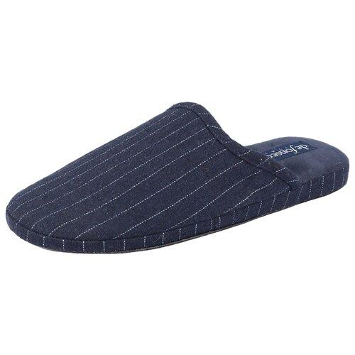 Тапочки Cagliari M404RU De Fonseca синий 42 (De Fonseca)Домашняя обувь<br>