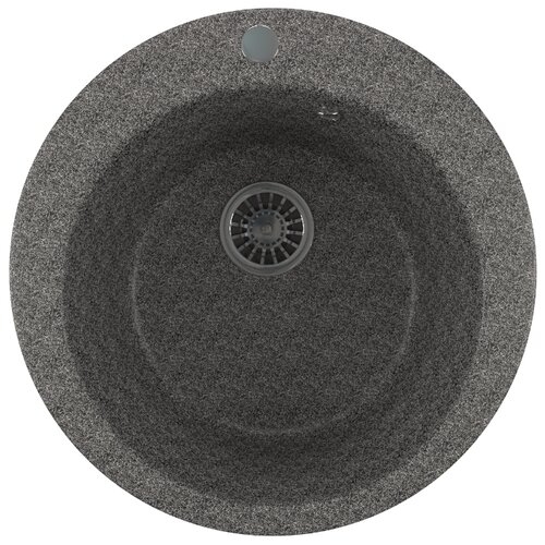 Врезная кухонная мойка 49.5 см Mixline ML-GM13 525087 темно-серая 309Кухонные мойки<br>