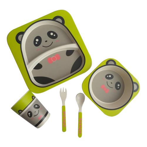 Комплект посуды Baby Ryan BF001 панда 2