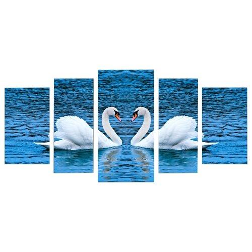 Модульная картина Картиномания Верность 100х200 смКартины, постеры, гобелены, панно<br>