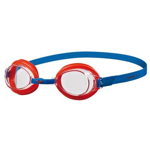 Очки для плавания arena Bubble 3 JR 92395 clear/mango/blue