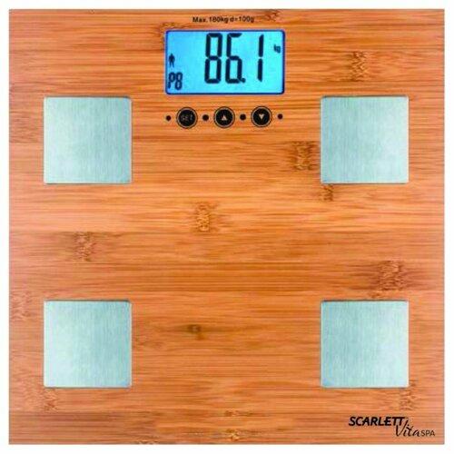 Весы электронные Scarlett SC-BS33ED79 весы scarlett sc ks57p22 рисунок ягоды sc ks57p22