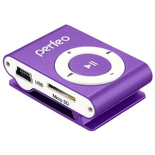 Плеер Perfeo VI-M001 0Gb фиолетовый
