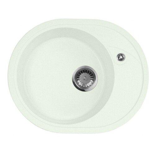 цена на Врезная кухонная мойка 57 см А-Гранит M-18L M-18L(303) салатовый