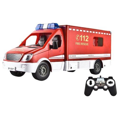 Фургон Double Eagle E671-003 1:18 29.5 см красный