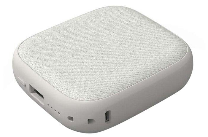 Внешний аккумулятор с беспроводной зарядкой Xiaomi Solove Wireless Charging Treasure W5 (серый)