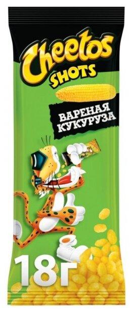 Кукурузные палочки Cheetos Shots Вареная кукуруза 18 г