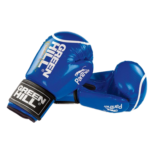 Боксерские перчатки Green hill Panther (BGP-2098) синий 10 oz боксерские перчатки green hill gym bgg 2018 синий 10 oz