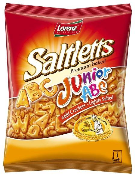 Соленый снэк Lorenz Saltletts Junior ABC 100 г