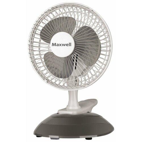 Настольный вентилятор Maxwell MW-3548 серый
