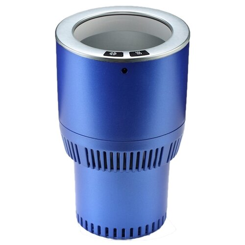 Термоподстаканник Paltier Smart Cup синий с серебром