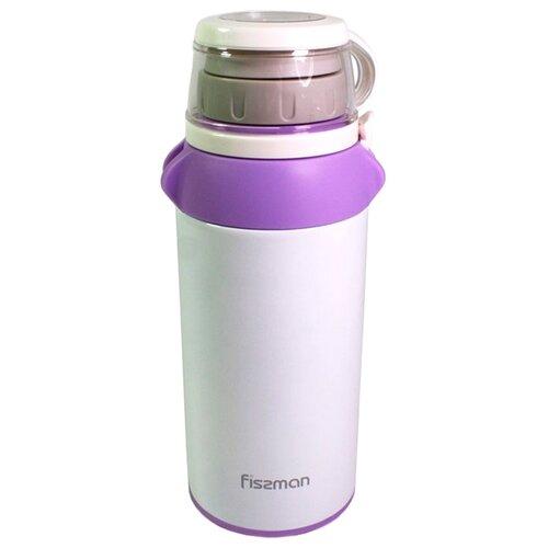 Классический термос Fissman 9741, 0.5 л белый