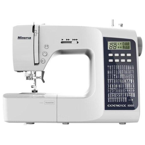 Швейная машина Minerva Experience 1000, бело-черный
