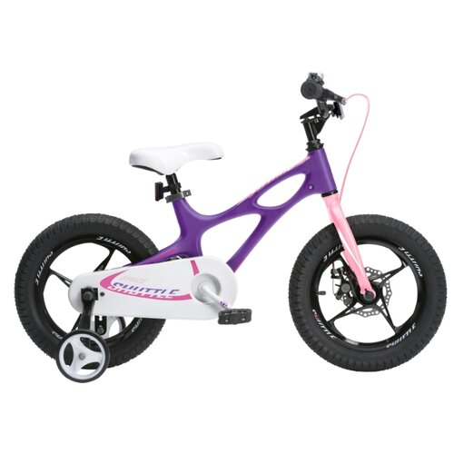 Детский велосипед Royal Baby RB16-22 Space Shuttle 16 фиолетовый (требует финальной сборки)Велосипеды<br>