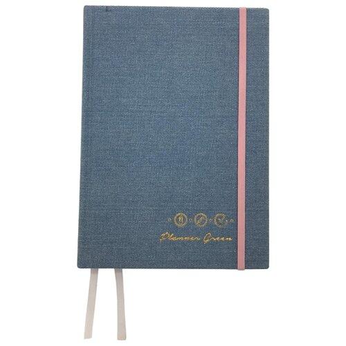 Ежедневник PlannerGreen Джинсовый красавчик, синий