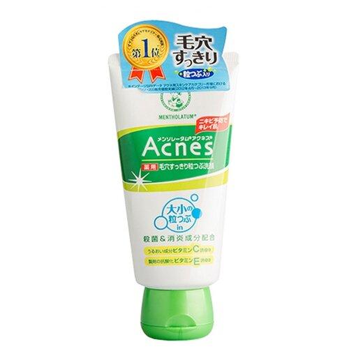 mentholatum 100g Mentholatum Крем-скраб очищающий Acnes Facial Scrub 130 г