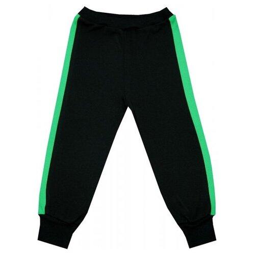 Брюки ПАНДА дети размер 86, черный/зеленыйБрюки и шорты<br>