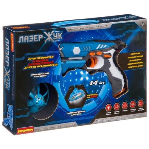 Купить Бластер BONDIBON Лазер-Жук (ВВ3999), Игрушечное оружие и бластеры