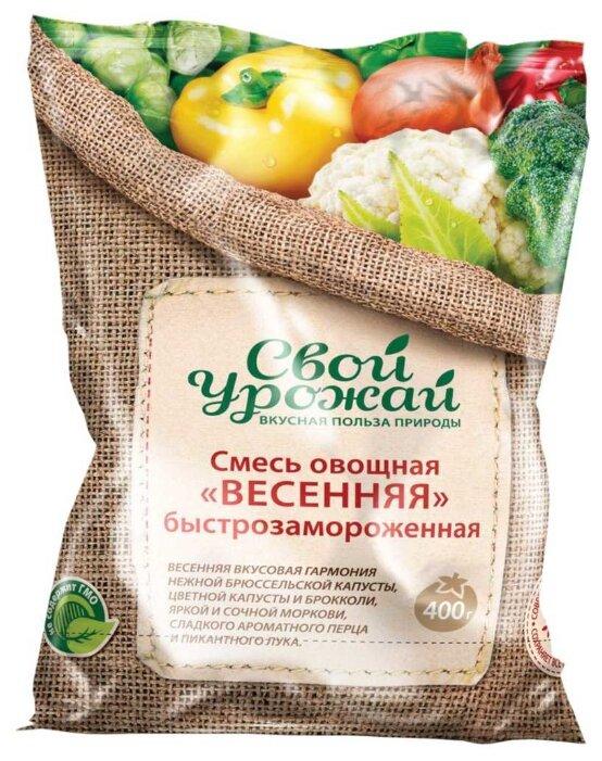 Свой урожай замороженная смесь овощная весенняя 400 г