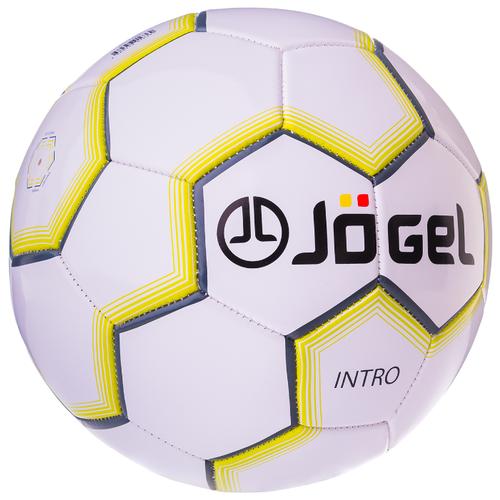 Футбольный мяч Jogel JS-100 Intro белый 5