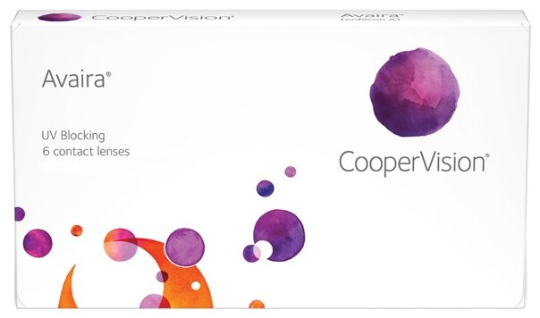 Контактные линзы CooperVision Avaira (6 линз / 8.5 / -0.5)