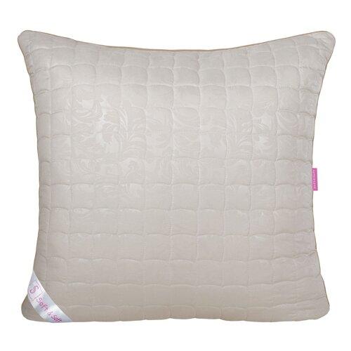 Подушка Традиция Soft&Soft Овечья шерсть 70 х 70 см бежевый