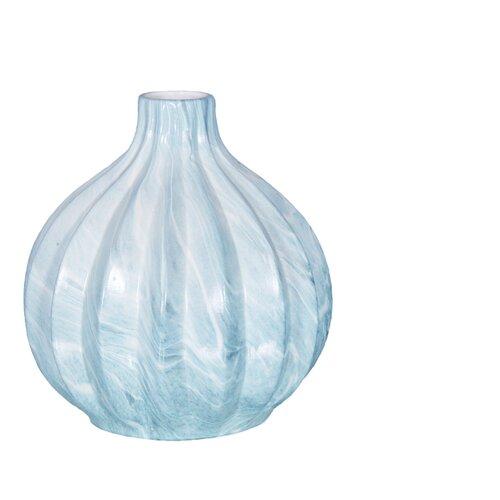 Ваза Home Philosophy Siman (F51733), бело-голубой