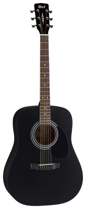 Вестерн-гитара Cort AD810 Black Satin