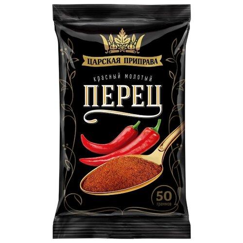 Царская приправа Перец красный молотый, 4 х 50 гСпеции, приправы и пряности<br>