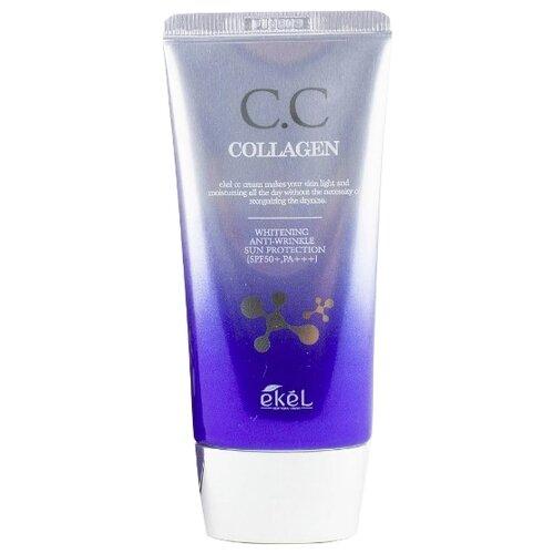 Ekel CC крем Collagen, SPF 50, 50 мл, оттенок: универсальный